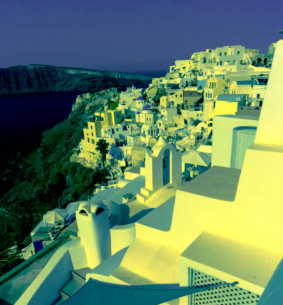 Santorini Greece_8125A_jpg stock photo