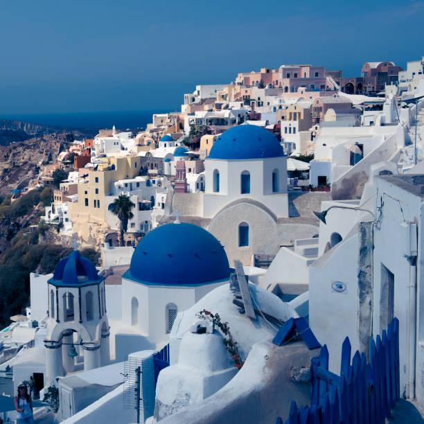 Santorini Greece_8399C_jpg stock photo
