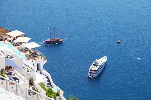 istock Santorini in Greece 1192245150