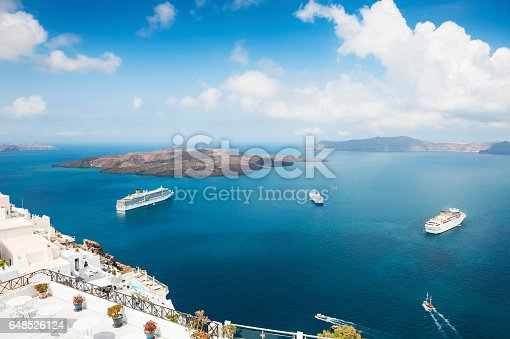istock Santorini island, Greece. 648526124