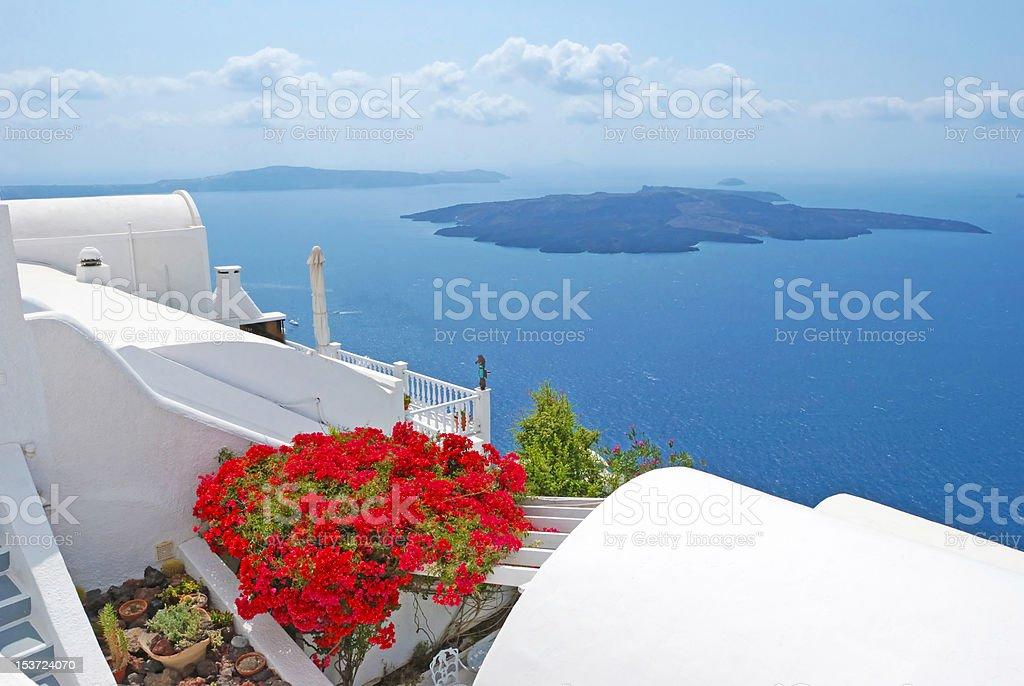 Santorini island royalty-free stock photo