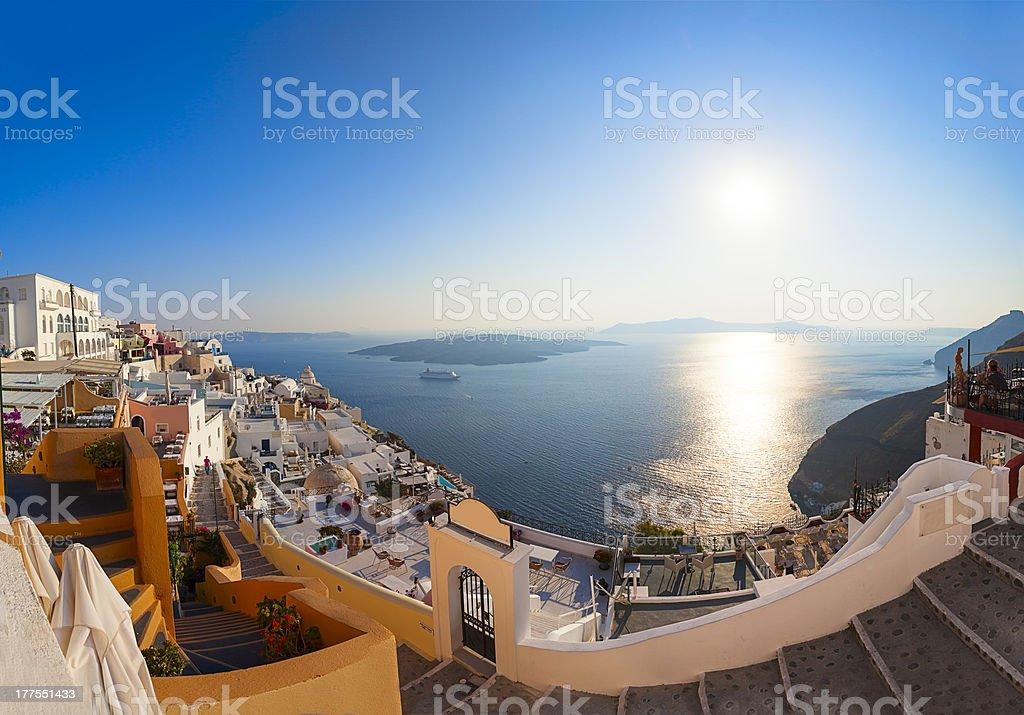 Santorini island,Greece royalty-free stock photo
