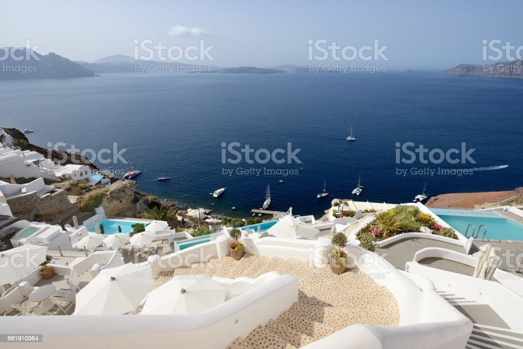 Santorini - Oia stock photo
