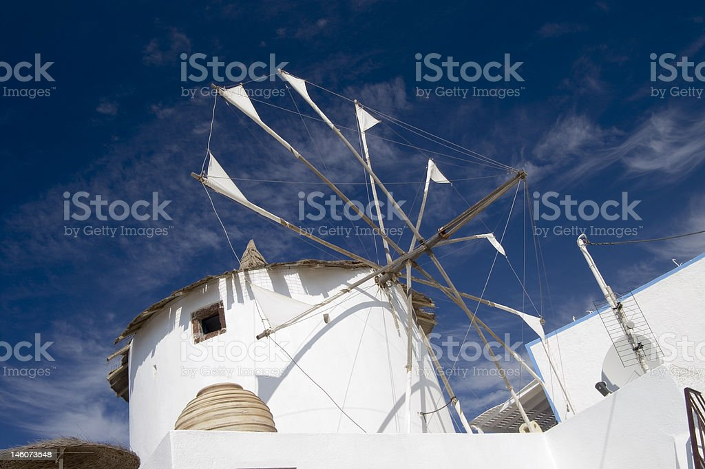 Santorini royalty-free stock photo
