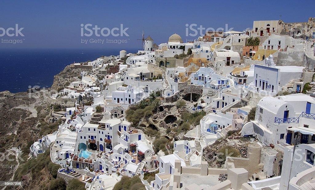 Santorini royalty free stockfoto