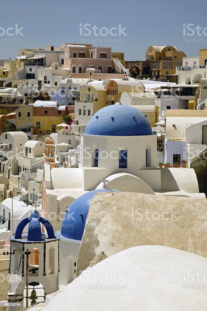 santorini foto stock royalty-free