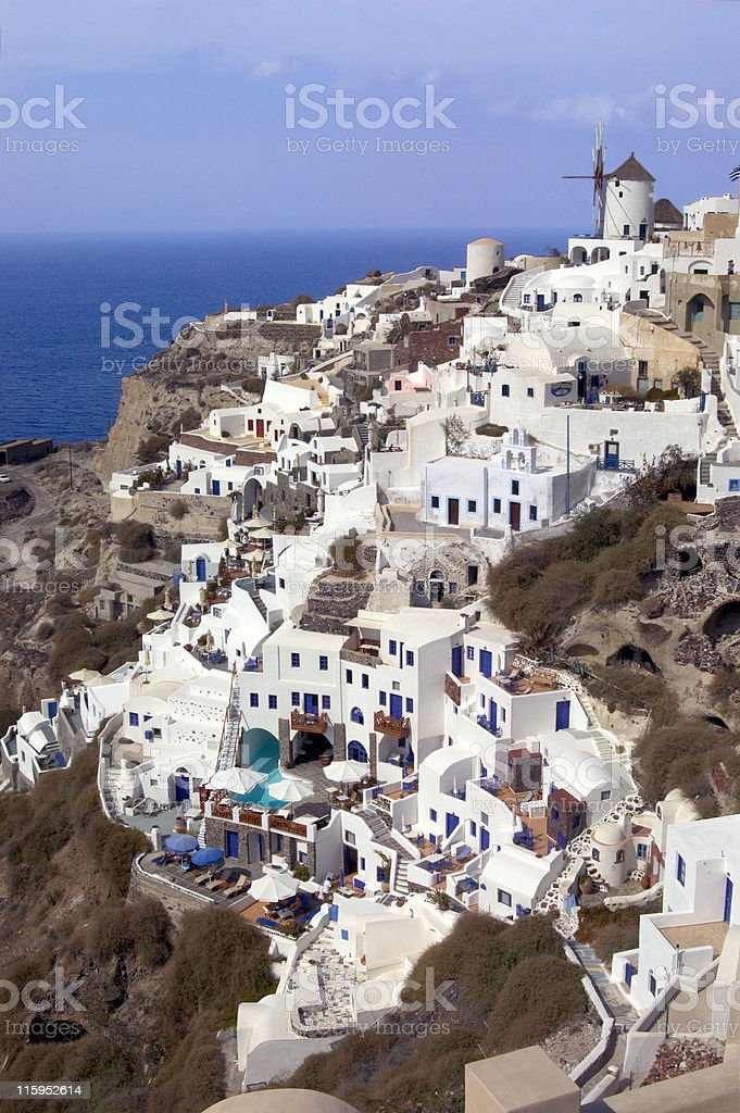 Santorini view royalty-free stock photo