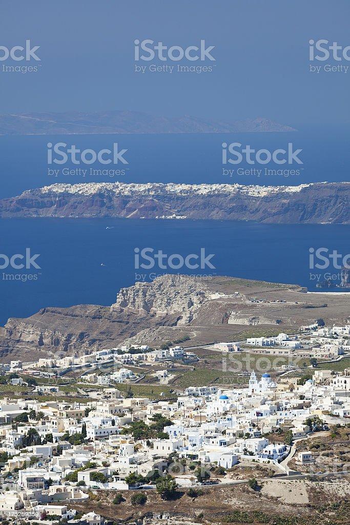 Santorini View stock photo