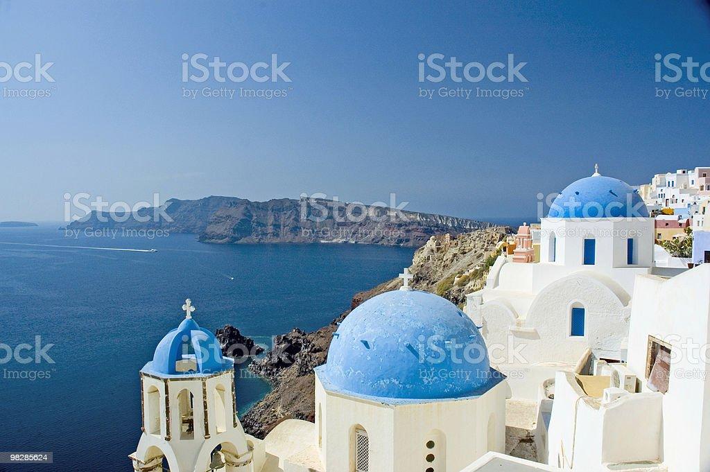 Santorini Views - Greece royalty-free stock photo