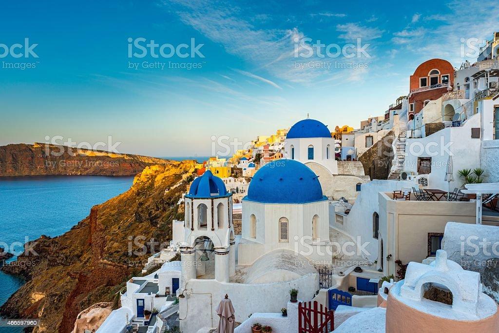 Santorini,Greece stock photo