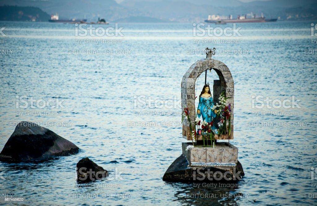 santo's image stock photo