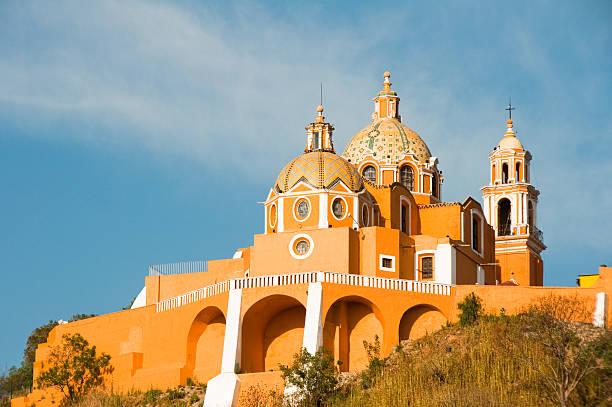 Santuario de los Remedios, Choula in Puebla Mexico Santuario de los remedios, Cholula in Puebla (Mexico) puebla state stock pictures, royalty-free photos & images