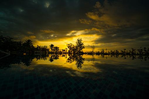 Sanya Hainan Seaside Sunrise Stock Photo - Download Image Now
