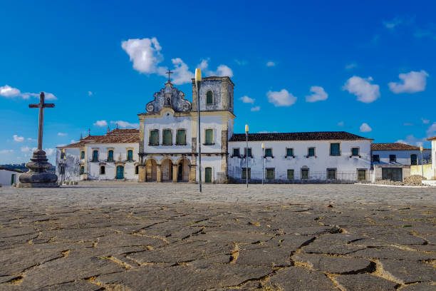 Sao Cristovao city, in the State of Sergipe stock photo