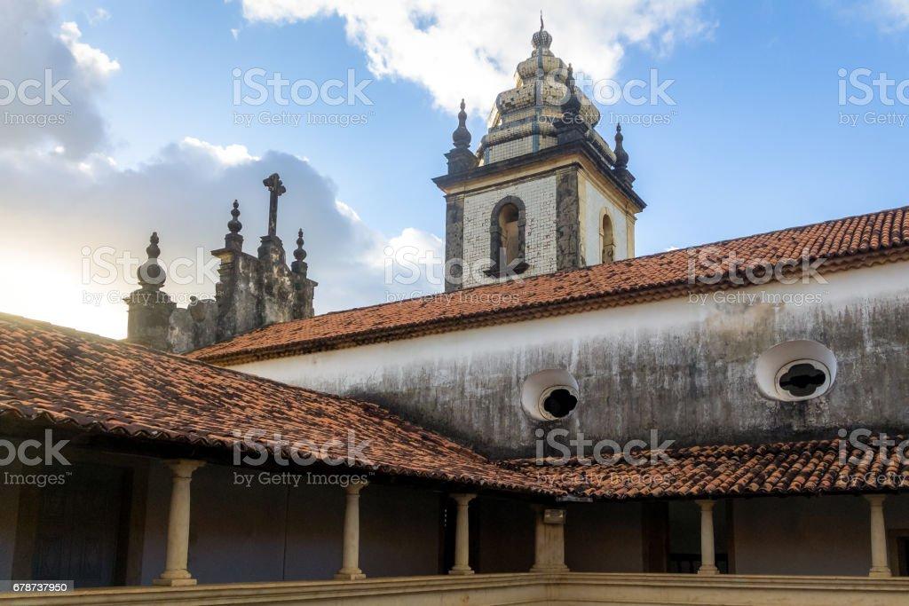Sao Francisco église - Joao Pessoa, Paraiba, Brésil photo libre de droits