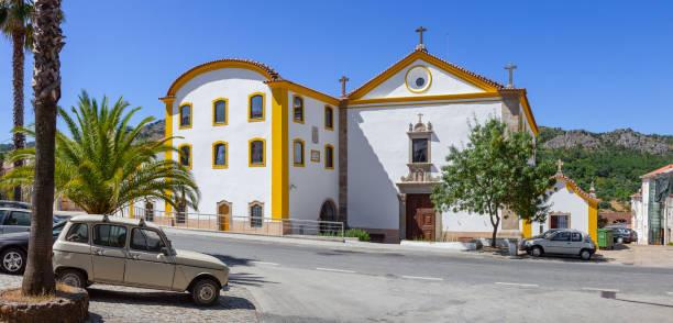 sao francisco convent in castelo de vide - portalegre imagens e fotografias de stock