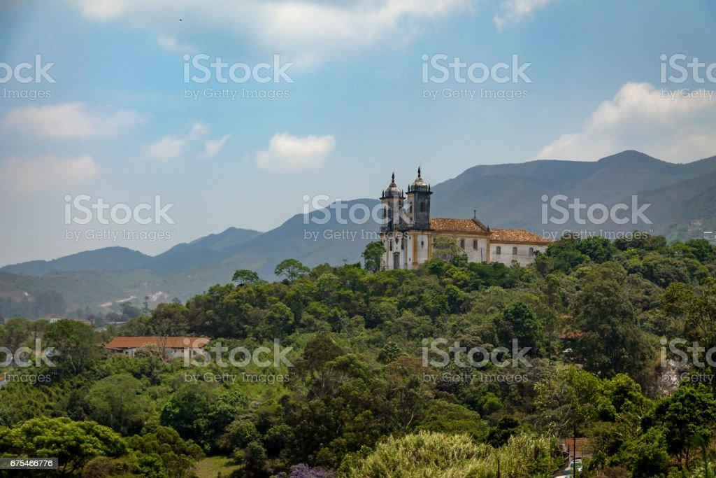Sao Francisco de Paula église - Ouro Preto, Minas Gerais, Brésil photo libre de droits