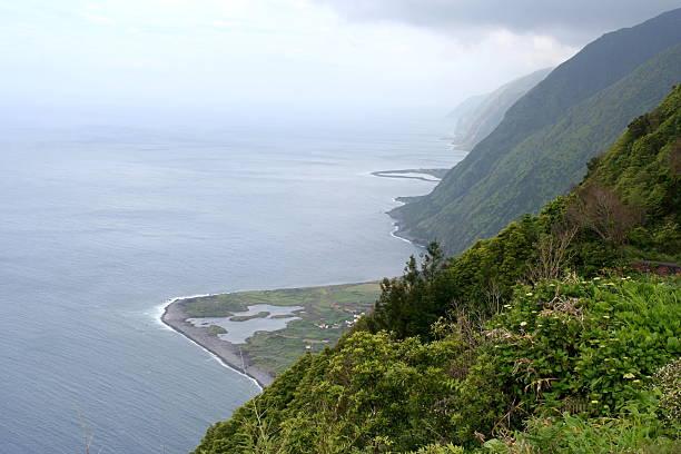 Sao Jorge, Azores stock photo