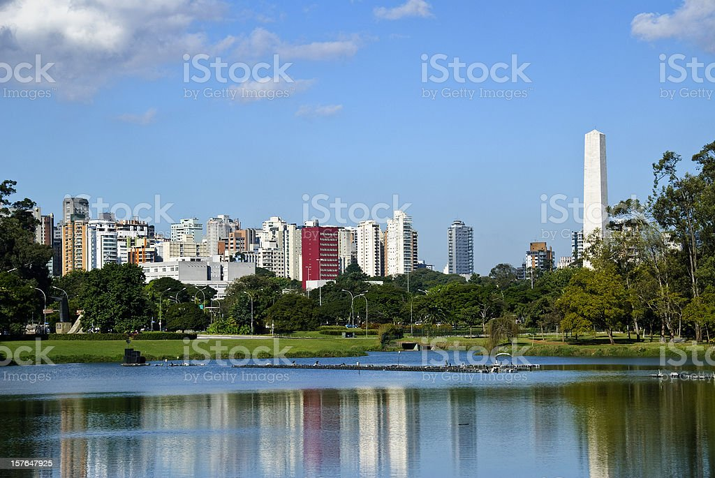 Sao Paulo, Brazil, skyline royalty-free stock photo