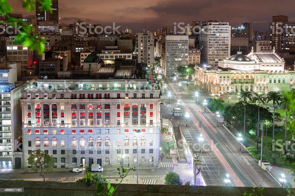 Sao Paulo city, Brazil stock photo