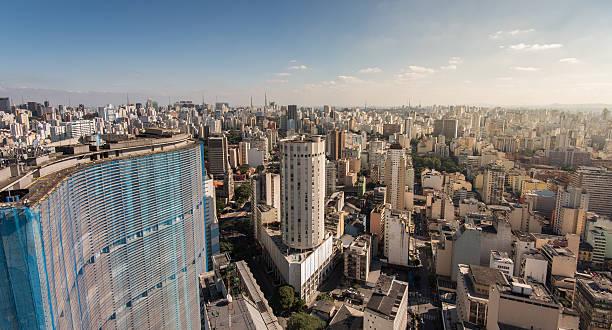 Sao Paulo City Skyline stock photo
