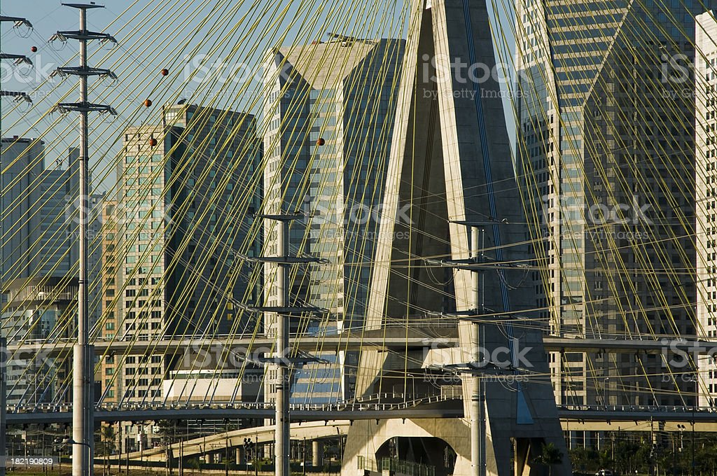 Sao Paulo Cityscape royalty-free stock photo