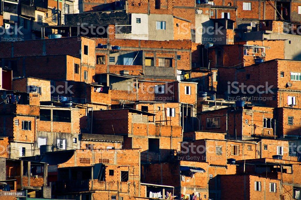 Le Bidonville de la ville de Sao Paulo - Photo