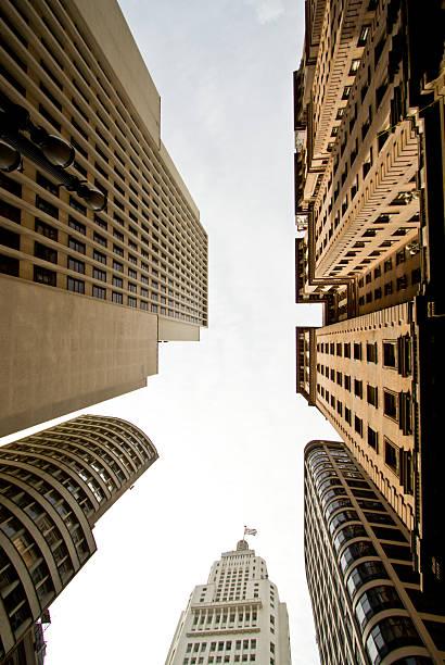 Sao Paulo downton stock photo