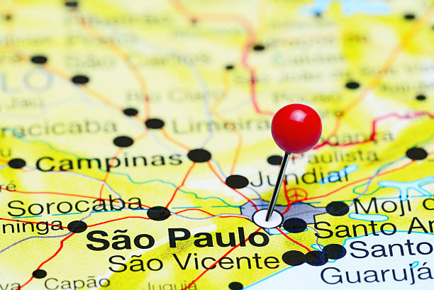 Sao Paulo State Map.Royalty Free Sao Paulo State Map Pictures Images And Stock Photos