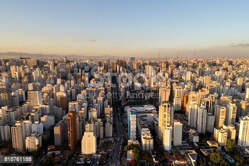 istock Sao Paulo skyline, Brazil 815761188