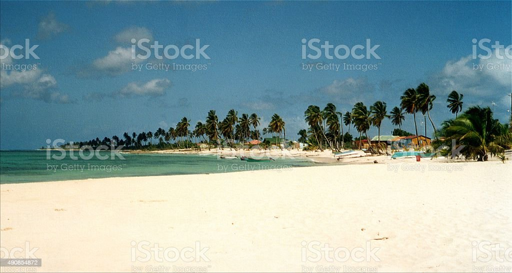 Saona Island, Dominican Republic stock photo