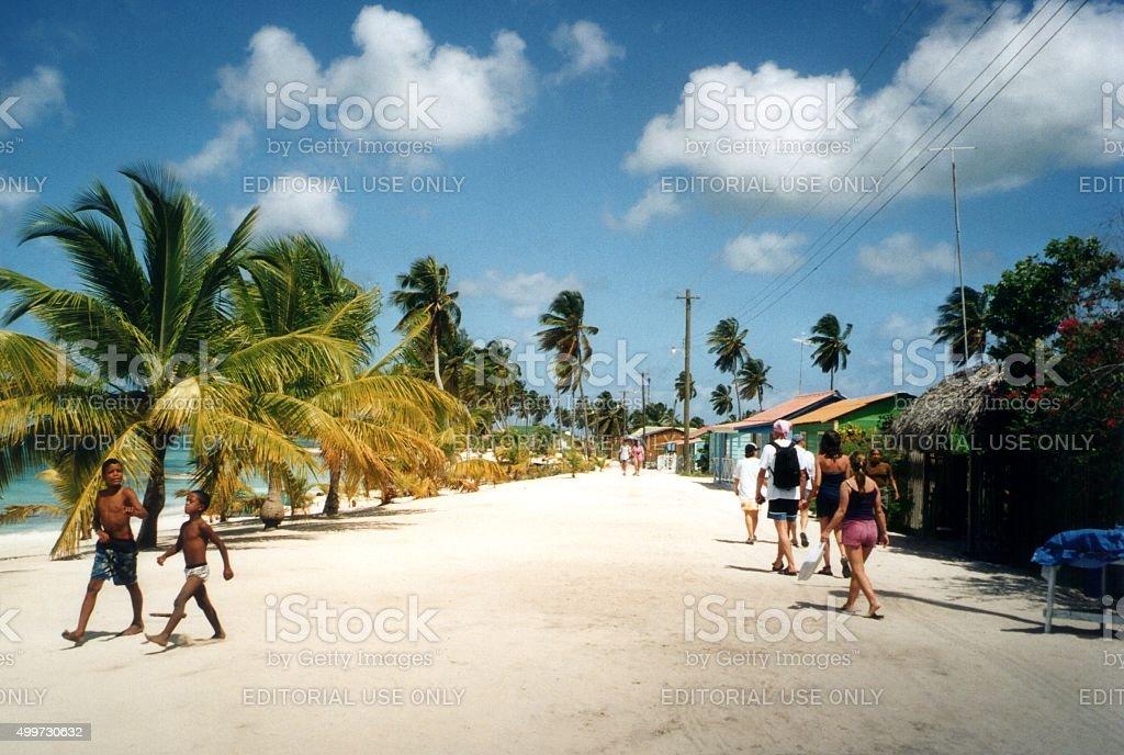 Isla Saona, República Dominicana - foto de stock