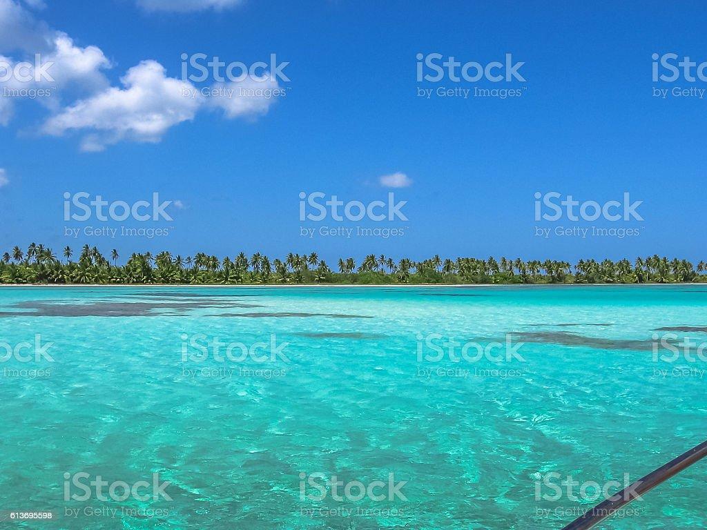 Saona Island Dominican Republic stock photo