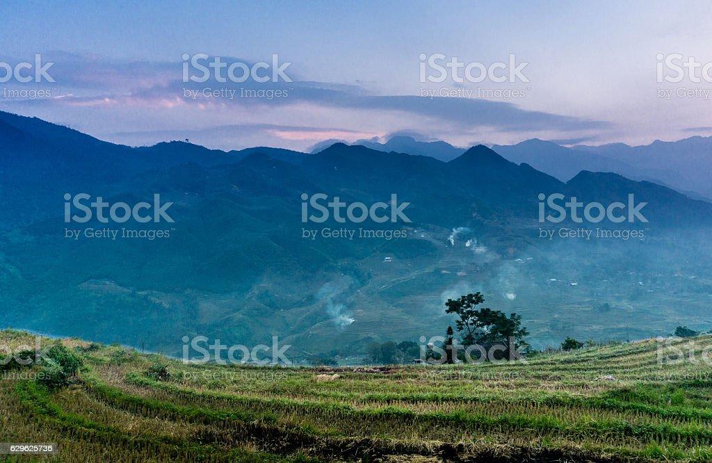 Sapa, Vietnam stock photo