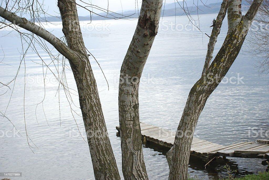 Sapanca Lake royalty-free stock photo