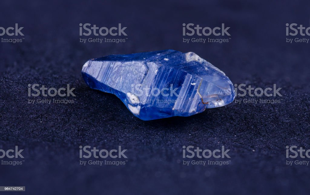 Sapphire crystal royalty-free stock photo