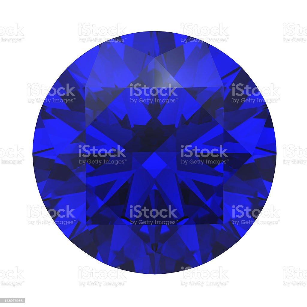 Sapphire gemstone stock photo