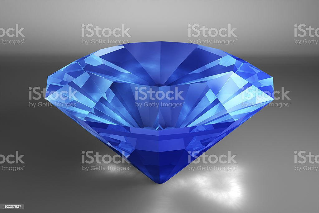 Sapphire royalty-free stock photo