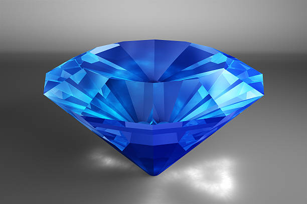 sapphire - sapphire gemstone stock photos and pictures