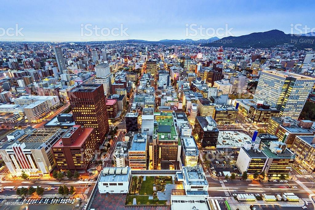 札幌日本 - アジア大陸のロイヤリティフリーストックフォト