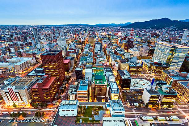 sapporo japan - sapporo stock photos and pictures