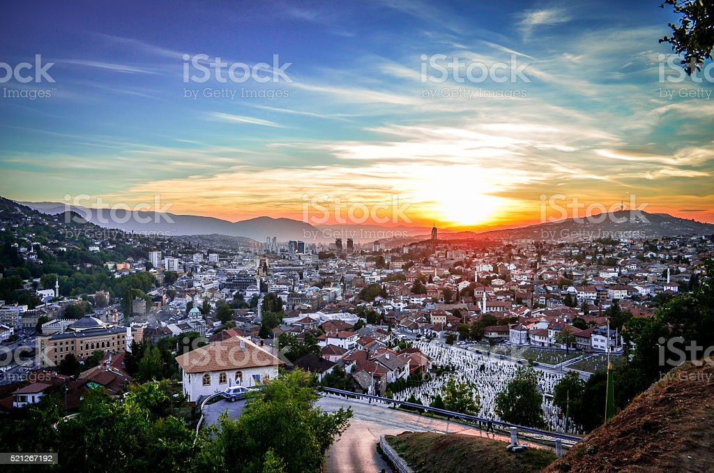 Sarajevo - Bosnia and Herzegovina stock photo
