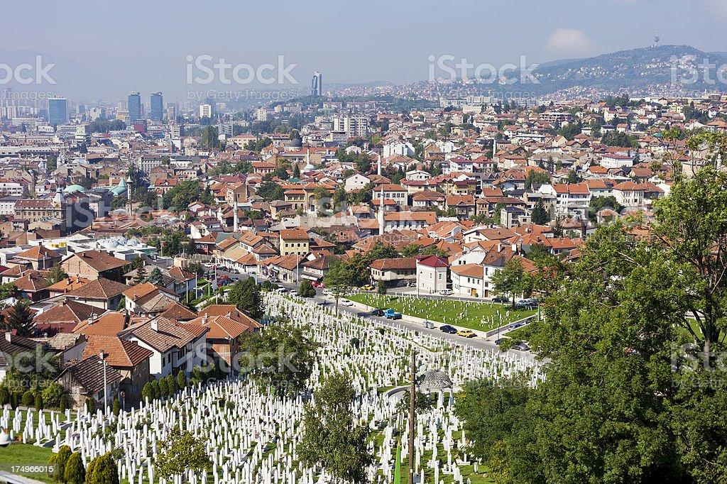 Sarajevo, Bosnia royalty-free stock photo