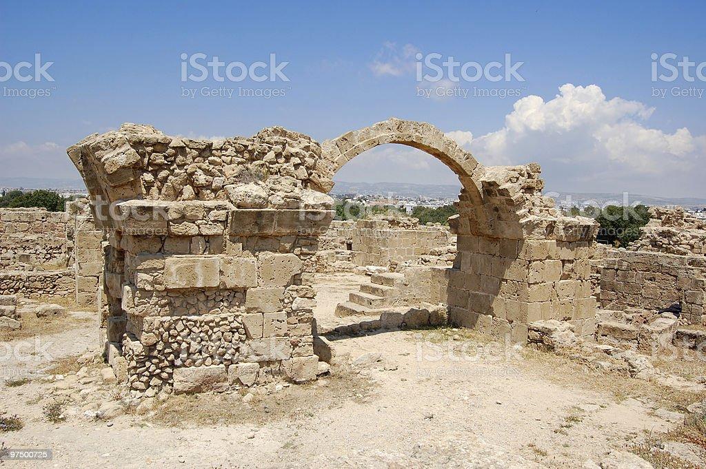 ''Saranda kolones'' castle royalty-free stock photo