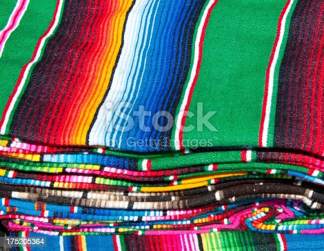 Textile Detail with Latin American Color Pattern