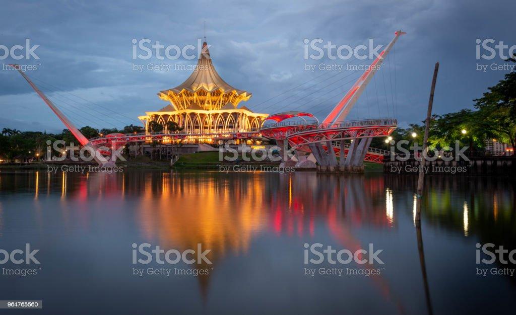 Sarawak National Assembly Building royalty-free stock photo