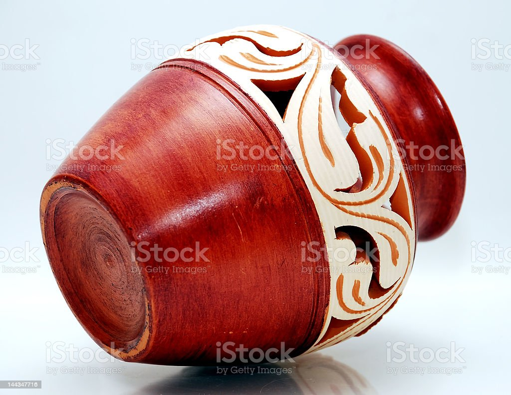 sarawak vase stock photo