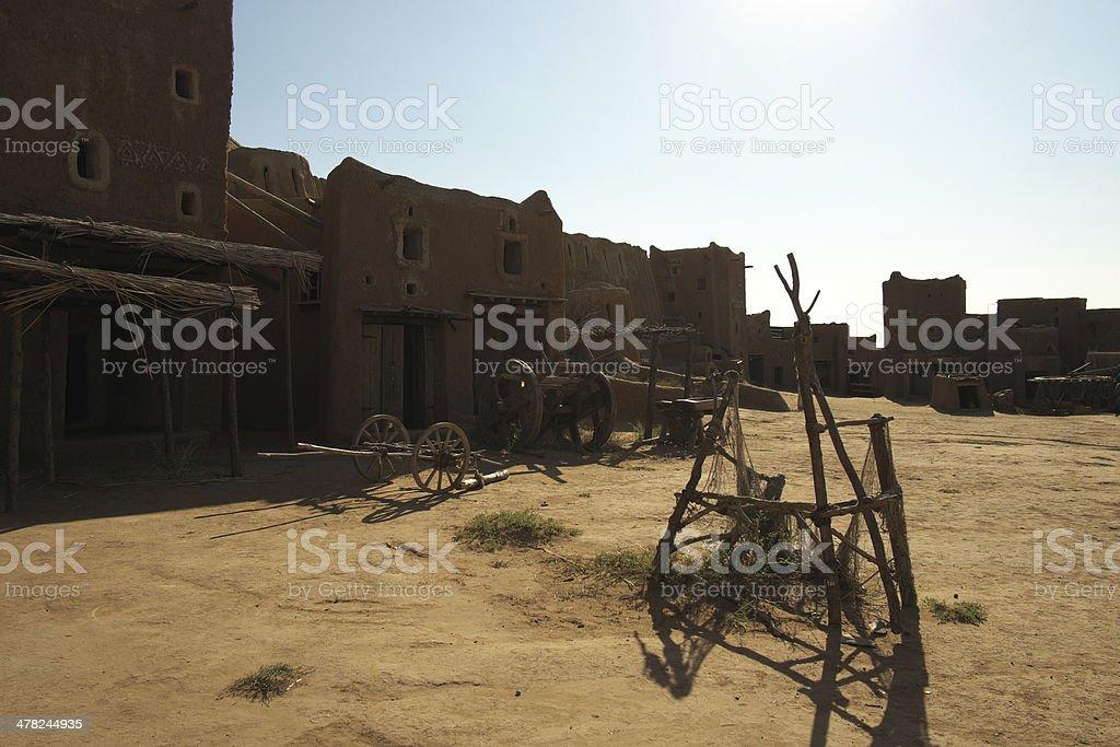 Saray-Batu. Golden Horde. Place. royalty-free stock photo