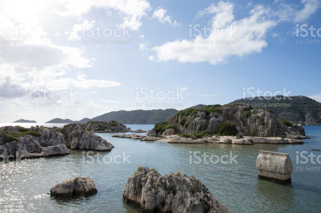 Lahitler Adası Deniz ' stok fotoğrafı
