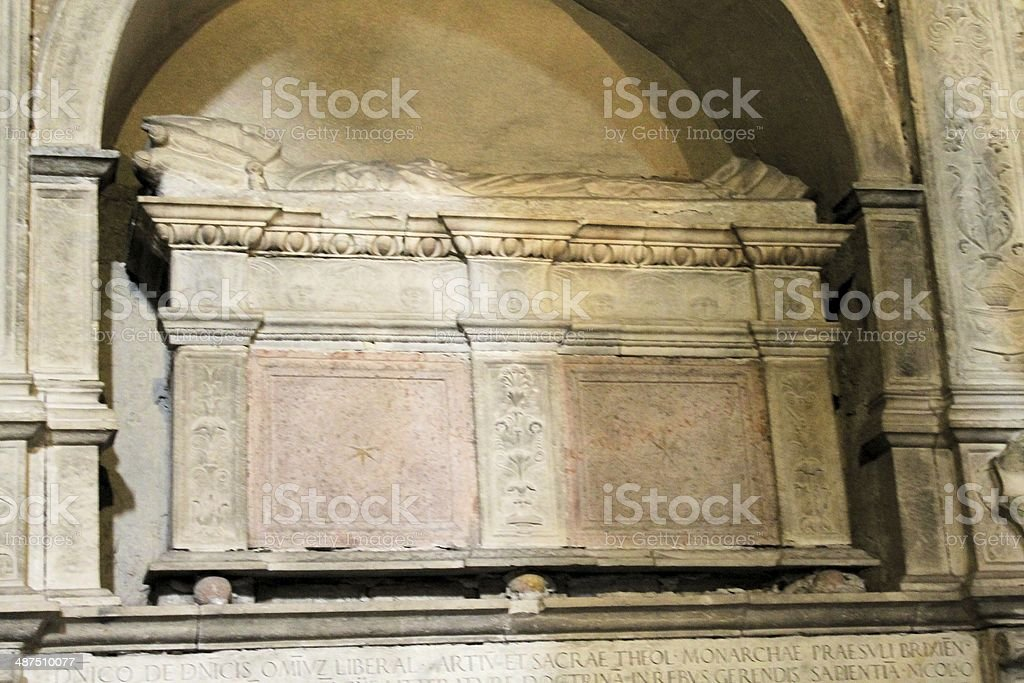 sarcophagus royalty-free stock photo